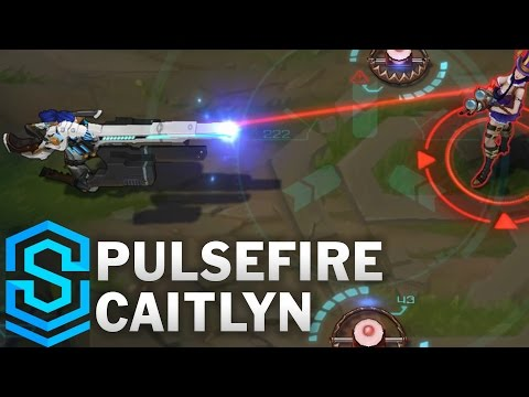 Pulsefire Caitlyn Skin Spotlight - Pre-Release - League of Legends