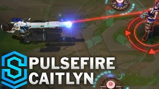 Pulsefire Caitlyn Skin Spotlight - Pre-Release - League of Legends