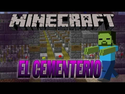 EL CEMENTERIO - Supervivencia - MINECRAFT Map
