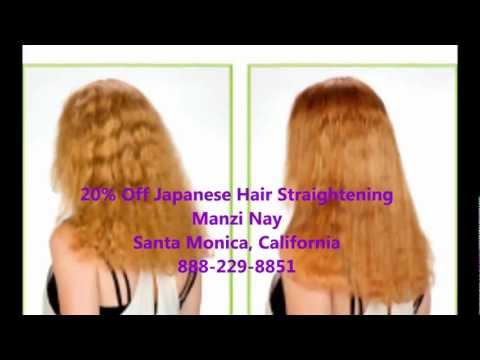 Japanese Hair Straightening Demo By Jeff Of Ref Salon