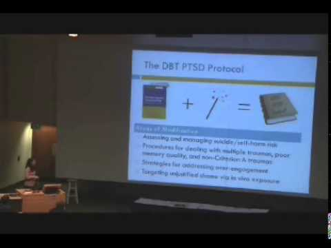 Treating PTSD in suicidal and self-injuring clients with BPD - Melanie Harned, PhD