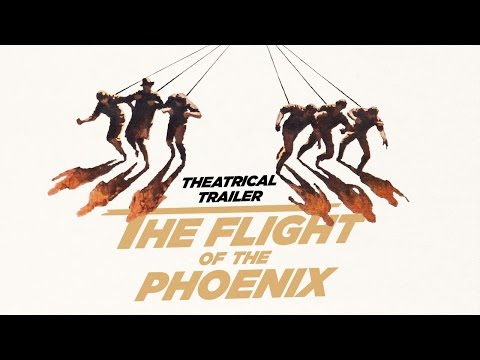 THE FLIGHT OF THE PHOENIX (Masters Of Cinema) Original Theatrical Trailer