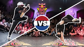 B-Boy Legends Junior and Physicx Battle at BC One France Cypher 2017