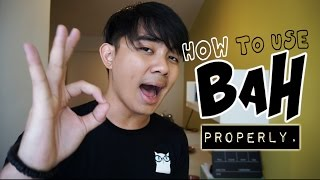 How to use BAH, properly | GET IT RIGHT (Ep7)