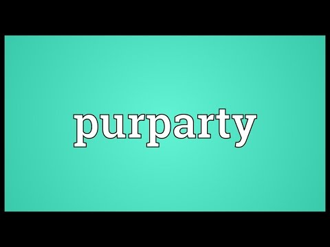 Header of purparty