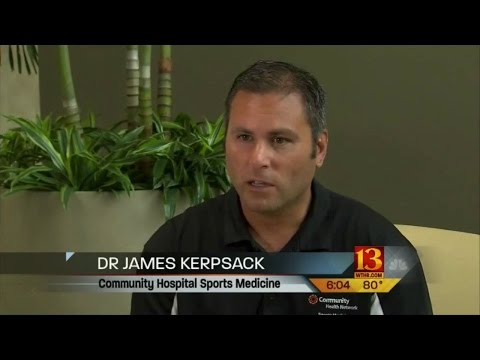WTHR - Paul George's Injury Report with Dr James Kerpsack