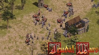 Feudal Wars Gameplay Trailer Age of Empires Clone Free to Play Real Time Stategy