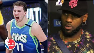 LeBron James: Luka Doncic's skill is well beyond his age | NBA Sound