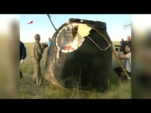 Welcome Home! Astronauts Return to Earth