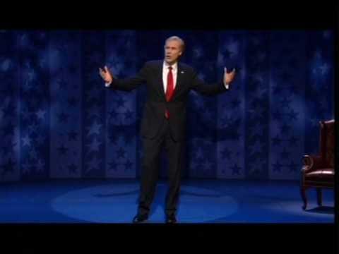 Will Ferrell as George W. Bush....very funny