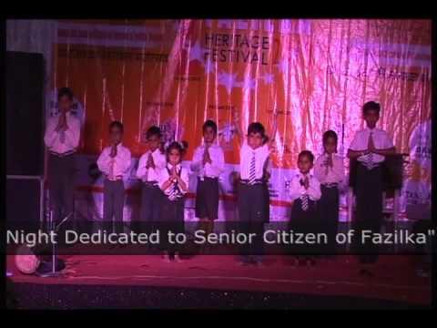 Fazilka Heritage Festival 2010- Lab Pe Aati Hai Dua Prayer