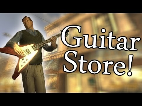 Fallout New Vegas Mods: The Guitar Store!