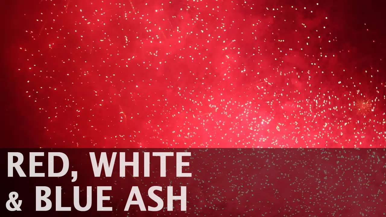 red white and blue ash oh