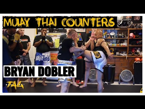 Ajarn Bryan Dobler Two Counters for a Foot Jab (Tiip)