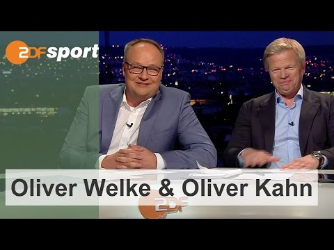 Best of Oliver Welke und Oliver Kahn | ZDF - EM2016