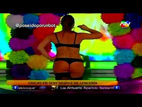 COMBATE: Desfile en Lenceria Chicas Equipo Rojo 18/11/13
