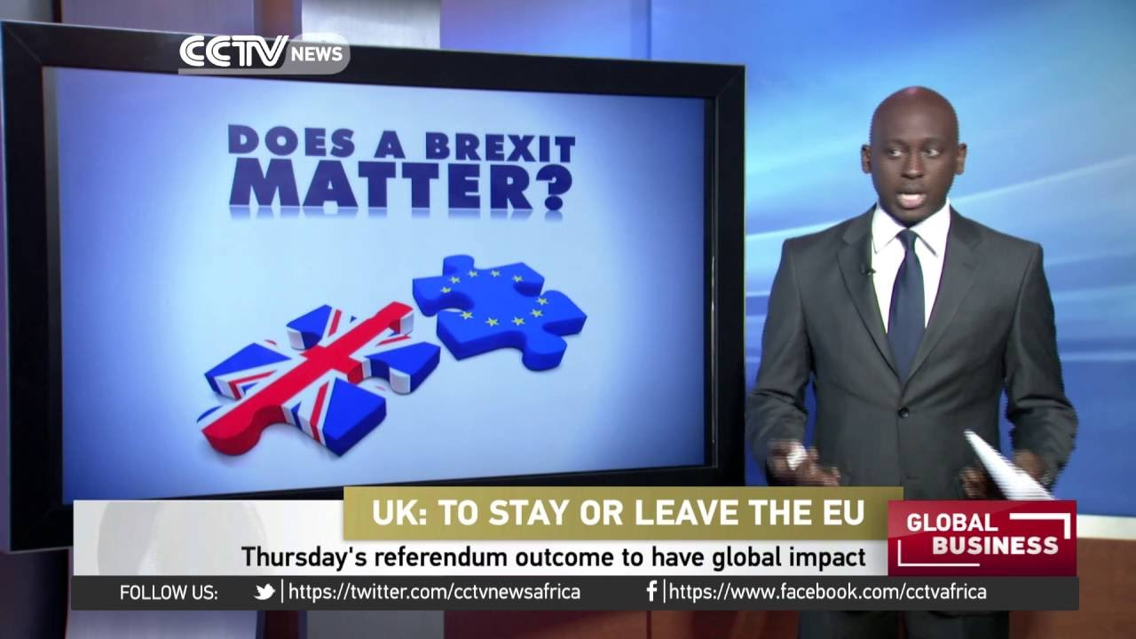 UK'S Brexit referendum to have global impact