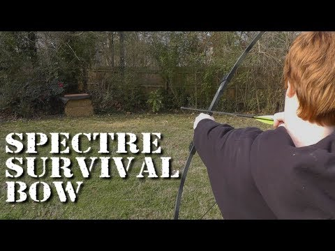 Spectre Take-Down Survival Bow - Unboxing and First Shots