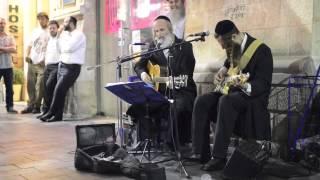 "Jewish men singing Pink Floyd's ""Wish You Were Here"""