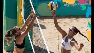 Beach Volley | Finales Femenil | Juegos Olímpicos de la Juventud Buenos Aires 2018
