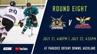 NZIHL 2018   Round 8 Game 31: Dunedin Thunder v Botany Swarm - July 21