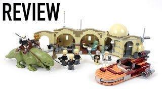 LEGO Star Wars Mos Eisley Cantina Review - Set 75052
