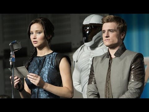 New 'Catching Fire' Photos - Finnick, Peeta, Katniss & Gale