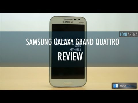 Samsung Galaxy Grand Quattro Review