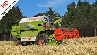 Claas Dominator 38 | Graan dorsen | Grain Harvest | Getreideernte | Germany | 2015.