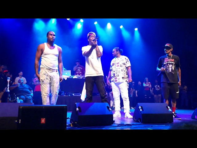 Bone Thugs N Harmony Tha Crossroads LIVE at The House of Blues in Houston, TX 8112019