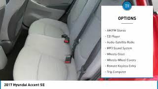 2017 Hyundai Accent Gastonia NC 13067P