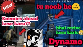 (New)Dynamo play RANDOM match with a fake  I.D(part-1) #pubgmobile #dynamogaming