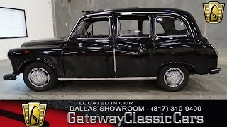 "1977 Austin ""Black Cab"" Gateway Classic Cars of Dallas"