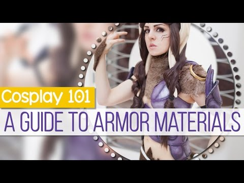 Cosplay 101: A Guide to Armor Materials    MangoSirene