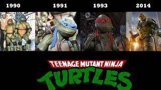 Teenage Mutant Ninja Turtles - [Compilation movies]- (1990, 1991. 1993, 2014) TMNT