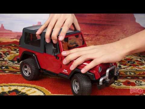Bruder. Джип с прицепом и минипогрузчиком CAT 02924 Игрушки и машинки для мальчиков Jeep