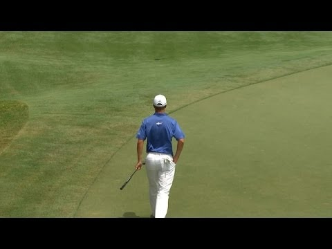 John Senden holes an improbable 58-foot birdie putt at THE PLAYERS