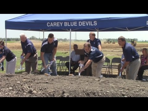 New Carey High School groundbreaking ceremony