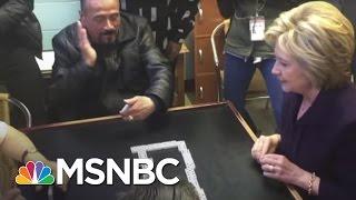 بالفيديو-:-شاهد-كلينتون-ترقص-شعبي-وتلعب-الدمنة