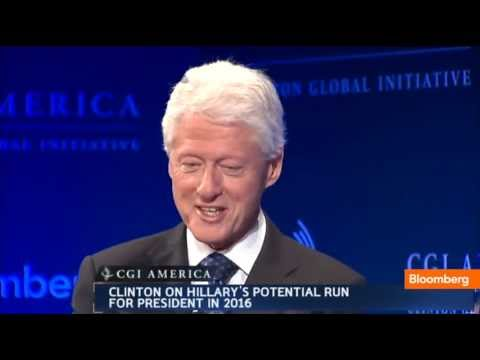 Bill Clinton on Hillary 2016 Presidential Run: I'd Support Her