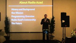 RadioAzad past, today & beyond by Azad @ The Rhythm of Unity by RadioAzad (online Radio of Dallas)