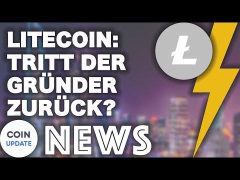 Litecoin: Tritt der Gründer bald zurück? | Bitcoin mit Bargeld kaufen - Bitcoin News 01.05.2018