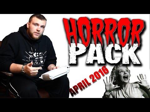 HORROR PACK - DVD April 2016 - Unboxing