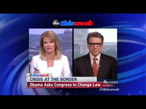 Rick Perry: Obama Doesn't Care if Border Is Secure