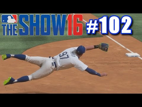DIVING CATCHES! | MLB The Show 16 | Road to the Show #102