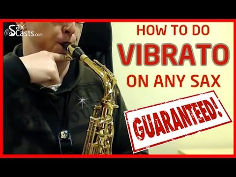 How to do Vibrato on Saxophone, guaranteed! (Saxophone Lesson BC110)
