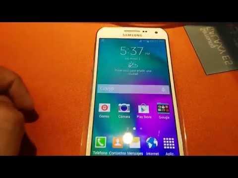 Samsung Galaxy E5. Review. análisis y características en Español.