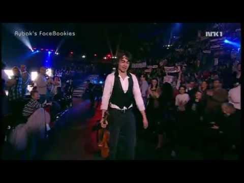"Alexander Rybak. Norwegian ESC Final. ""Fairytale"" & voting. 21.02.2009"