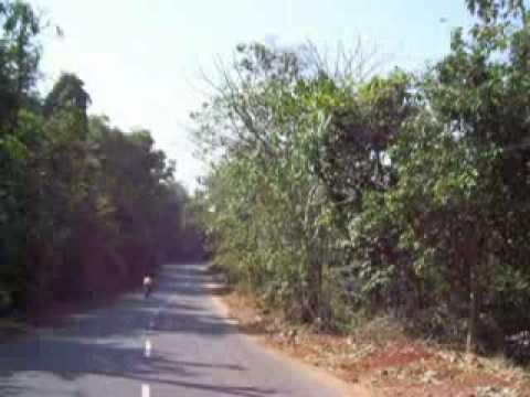 Goa, India by bike taxi