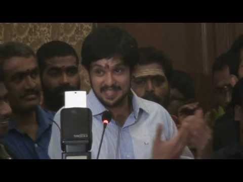 Hero Nakul at Santhanam`s Naradan Movie Launch